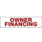 Sign Rider Owner Financing